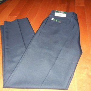 Polo Ralph Lauren Classic pants flat front NAVY 34